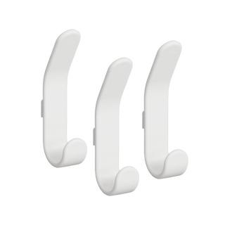 Crochets basic double blanc - Porte-manteau (x3) Elfa 479510