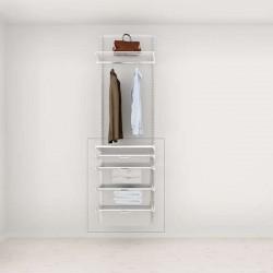 Solution complémentaire Elfa Classic Blanc option 60-4