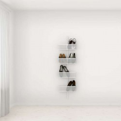 Solution de rangement chaussures Elfa Classic Blanc option 1