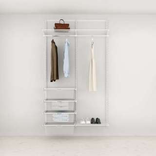 Solution pour placard Elfa Classic Blanc option 5
