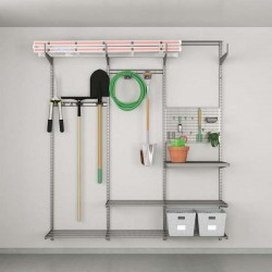 Kit de rangement garage pour jardinage opt. 1